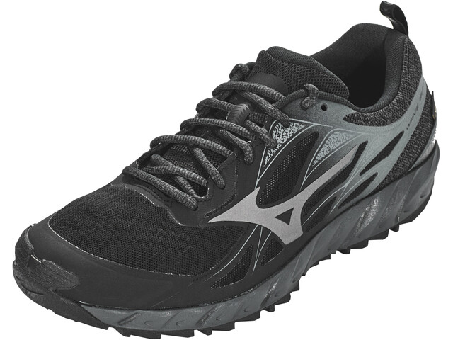 Mizuno Wave Ibuki GTX Buty do biegania Mężczyźni, black/metallic shadow/dark shadow